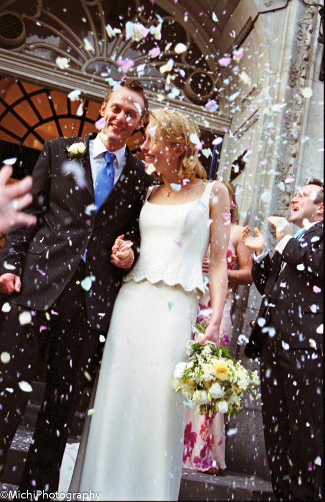 渡辺 未知「結婚式当日の写真」