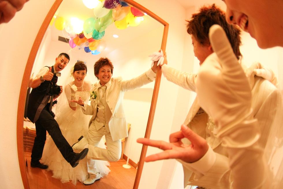 江幡 幸典「結婚式当日の写真」